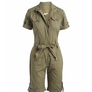 Women Military Romper